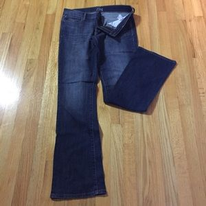 Old Navy jeans, Diva style, dark wash, 10 long